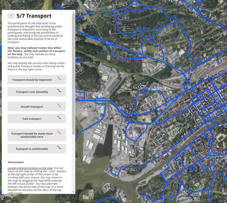 Liikennesuunnittelu ja liikkuminen